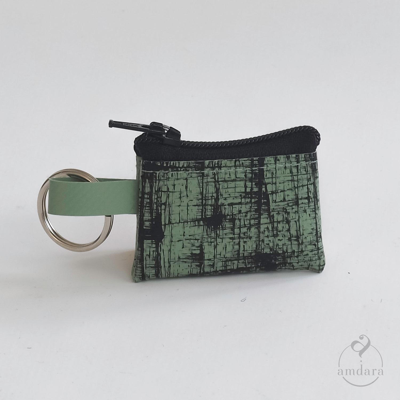 Münzanhänger Mini Portmonee aus Blache