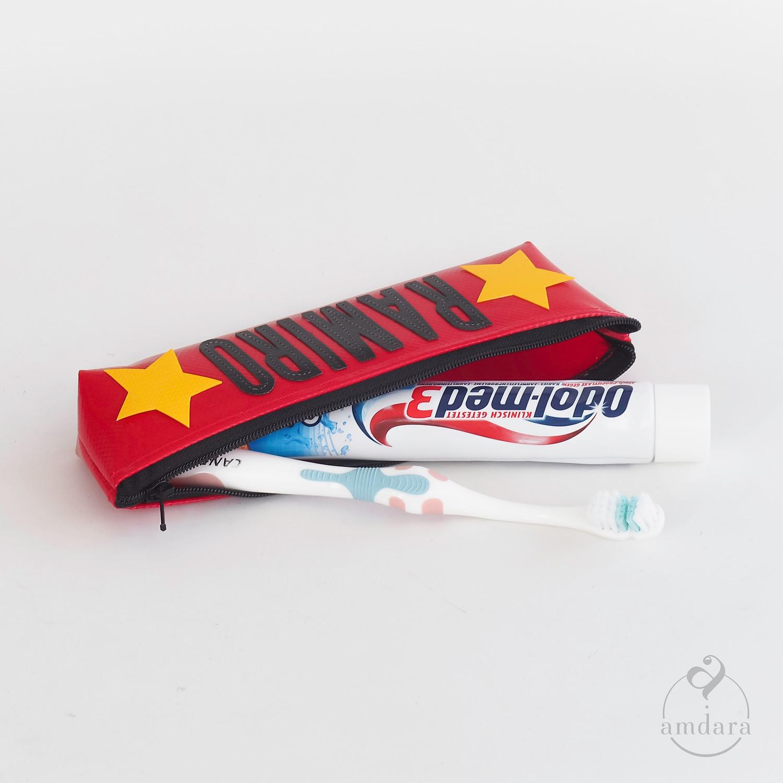 Zahnputztasche, Zahnbürstenetui, Täschchen für die Zahnbürste