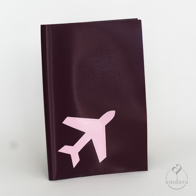 Reisemappe gross, Etui für Reisedokumente und Pass