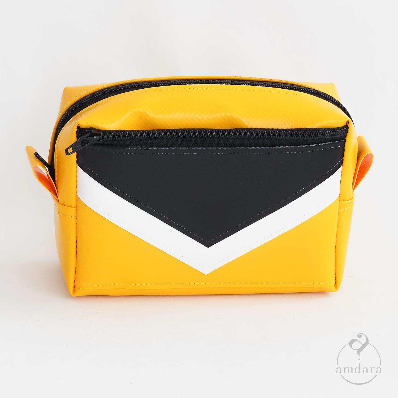 Necessaire klein, Schminktäschchen, Taschenorganizer aus Blache