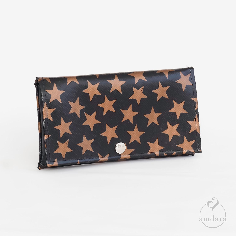 Portmonee mit Handyfach, Mini Handtasche aus Blache
