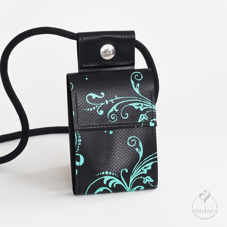 Portmonee Handykette / Smartphonekette aus Blache