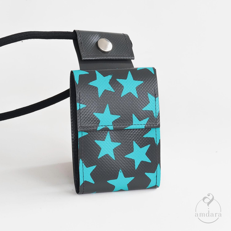 Portmonee Handykette Spartphonekette aus Blache