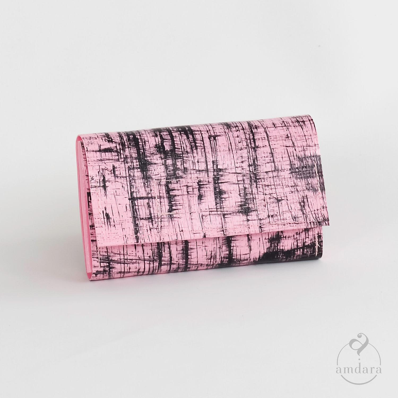 Kleines Portmonee in Kreditkarten Format aus Blache