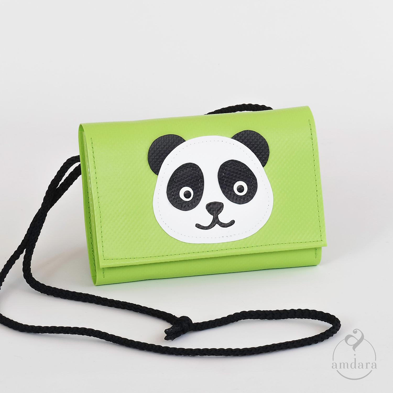 Kinderportmonee aus Blache Panda