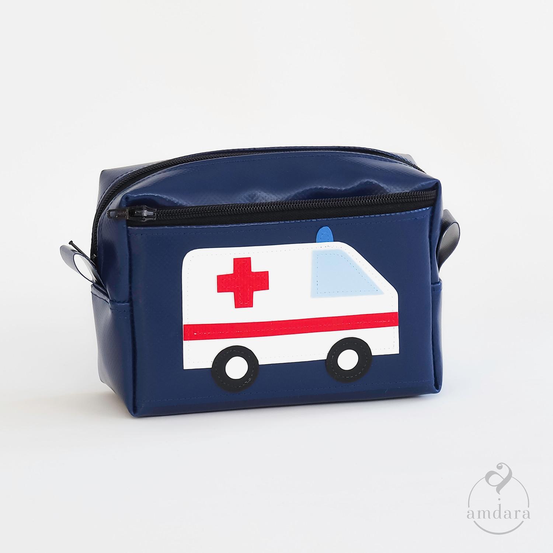 Kleine Apotheke, Notfalltäschchen, Erste Hilfe Täschchen aus Blache