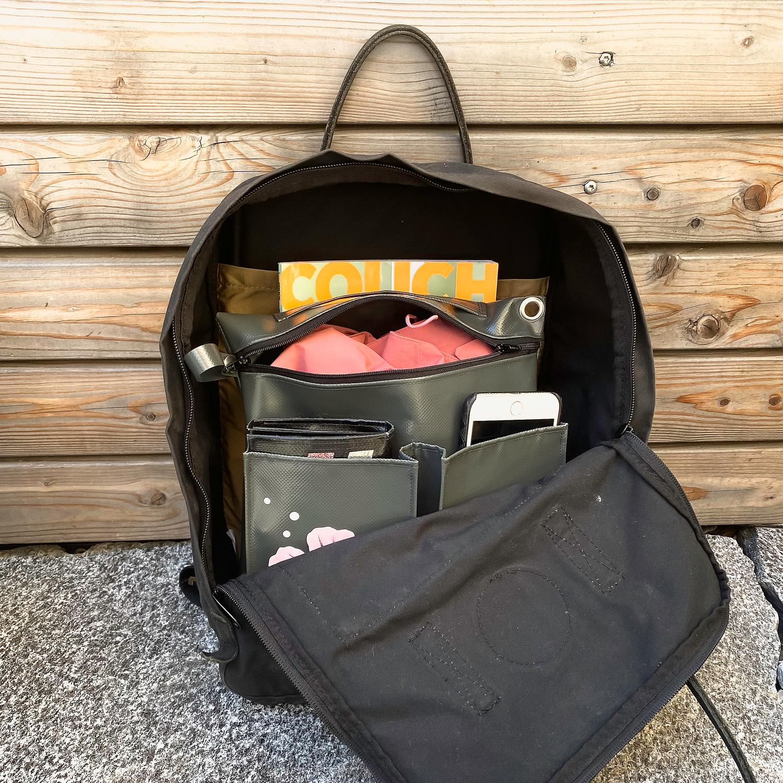 Rucksack Organizer, Taschenorganizer
