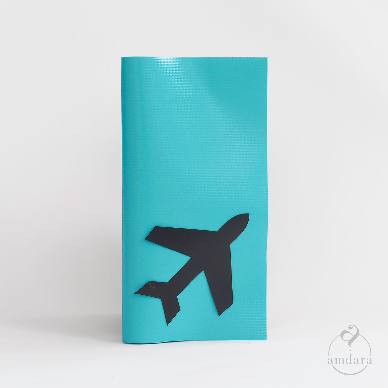 Reisemappe klein, Etui für Reisedokumente und Pass