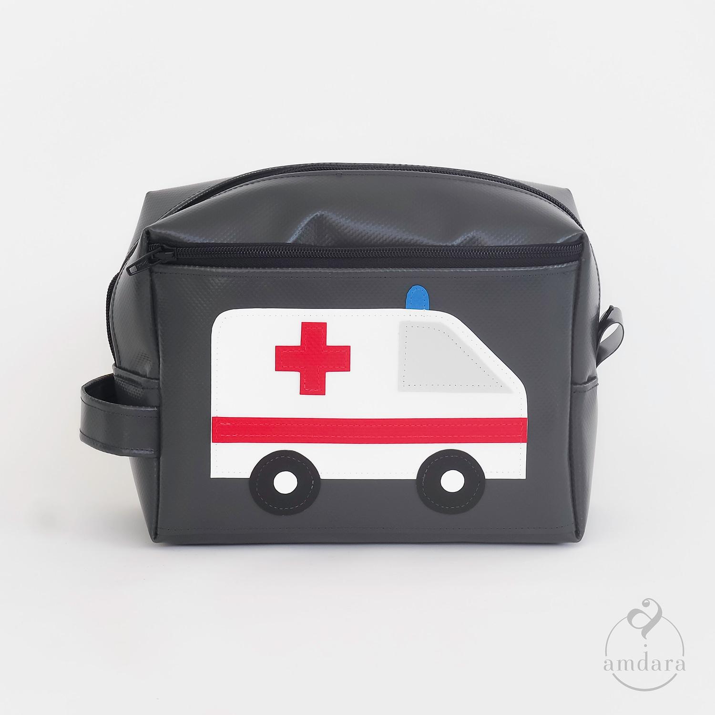 Mittelgrosse Apotheke/ Notfalltäschchen für unterwegs