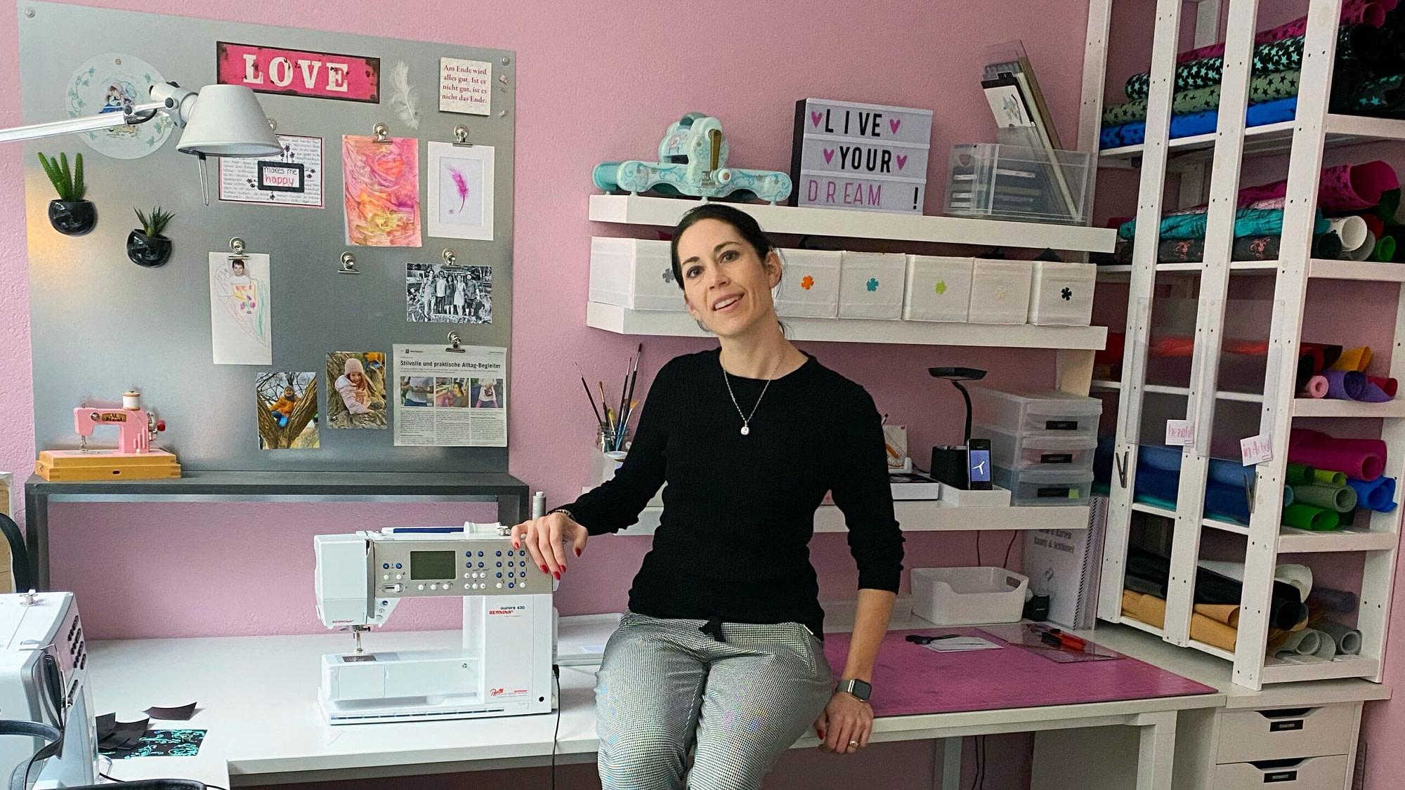 Darja Stucki im Atelier amdara, Jahresrückblick 2019