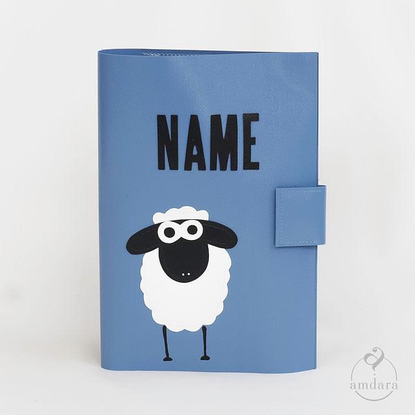 Gesundheitshefthülle / Hülle fürs Gesundheitsheft aus Blache Schaf