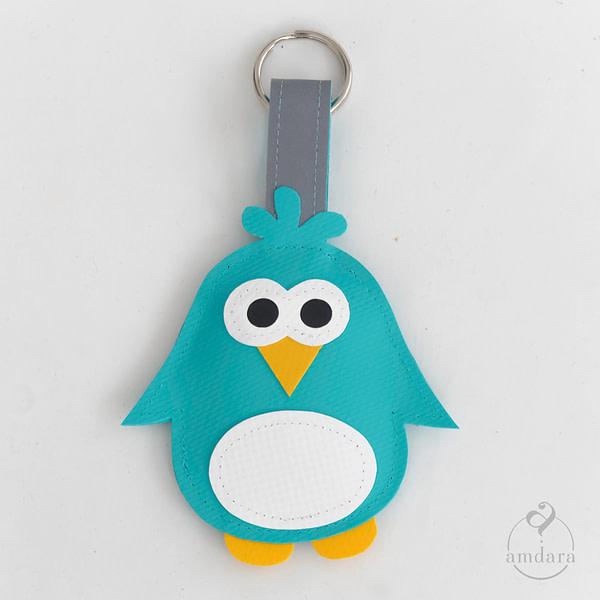 Anhänger Schlüsselanhänger Pinguin
